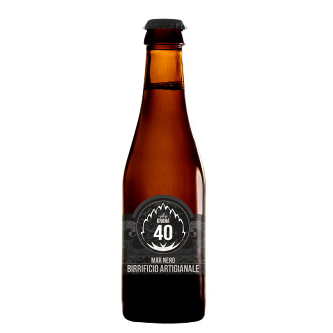 grana 40 mar nero italian craft beer