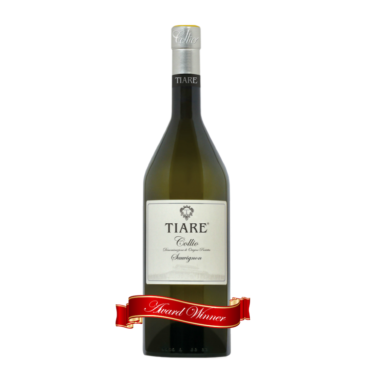 The Best Sauvignon in the World - literally. Tiare's unoaked 2013 Sauvignon blanc was awarded the 'Best Sauvignon in the World' medal at the 5th edition of the World Sauvignon contest, held in Bordeaux, France. Chosen from nearly 500 wines from 21 countries, this was highest honor ever given to an Italian wine at this major international event. The same vintage was also awarded the prestigious Tre Bicchieri award in 2015. The 2014 vintage won a gold medal in the same competition the next year. The 2015 vint
