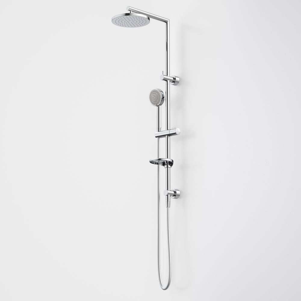 Caroma Liano Nexus Multifunction Rail Shower with Overhead - Chrome