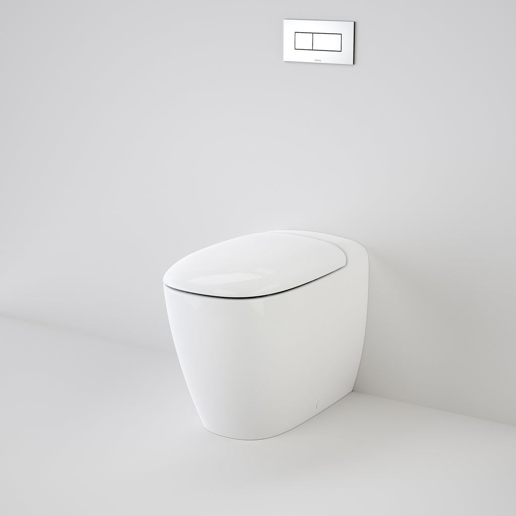 Caroma Contura Wall Faced Invisi Series II®  Toilet Suite