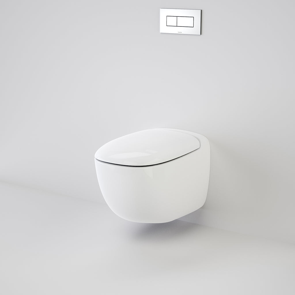Caroma Contura Wall Hung Invisi Series II® Toilet Suite