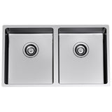 Clark Evolution Double Bowl Undermount