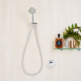 Caroma Ecco 95 Hand Shower On Wall Outlet with Multifunction Head