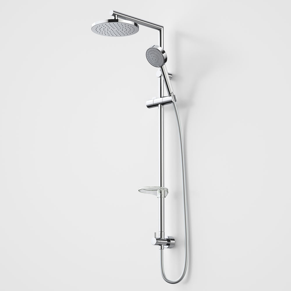 Caroma Essence Rail Shower with Overhead