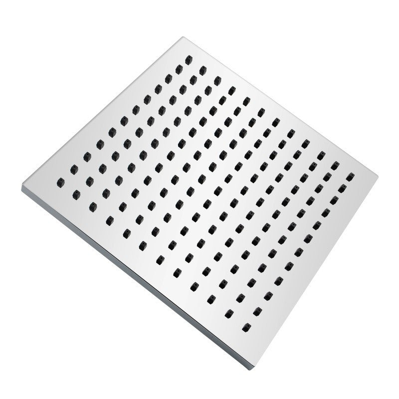 ABS Square Chrome Rainfall Shower Head 8 inch