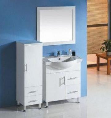 750mm Semi Recess Vanity