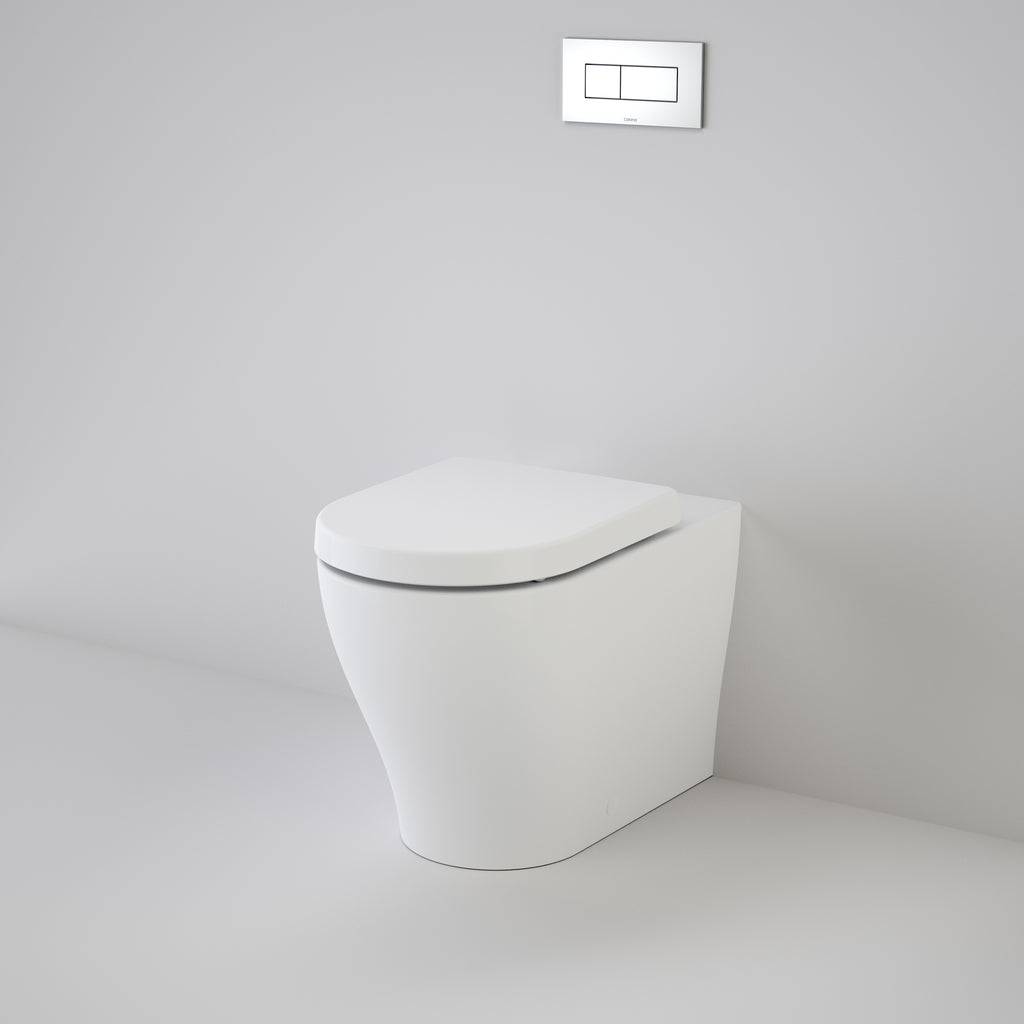 Caroma Luna Cleanflush® Invisi Series II® Wall Faced Toilet Suite Concealed Cistern