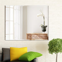 1200mm x 800mm Bathroom Mirror Bevel Edge Wall Mounted