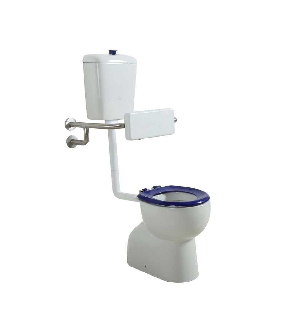 Ambulant Disabled Care Toilet Suite with(or without) Back Rest