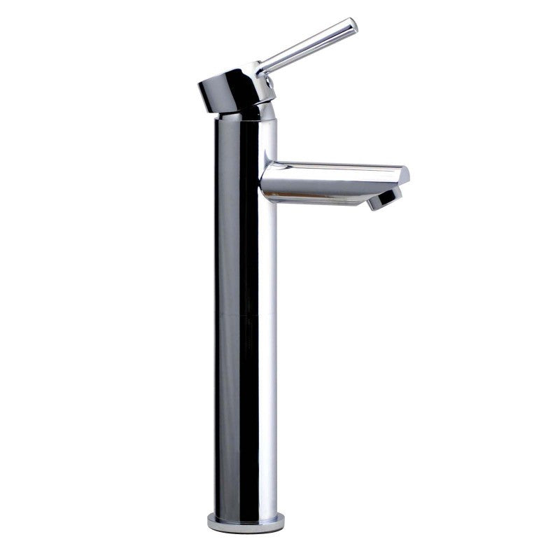 Lollipop Round Chrome Tall Basin Mixer