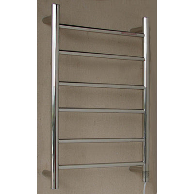 Round 6 Bar Heated Towel bar - 450mm wide