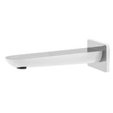 IKON  Kempton Bathroom Kara Bath / Wall Spout - Chrome & White