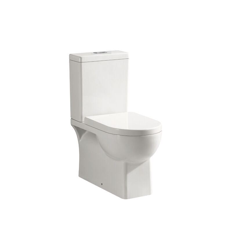 Square Back to Wall Toilet Suite