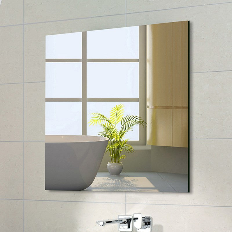 900 x 900mm Bathroom Mirror Pencil Edge Wall Mounted