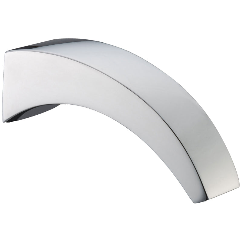 Laidley Bathroom Waterfall Bath / Wall Spout - Chrome