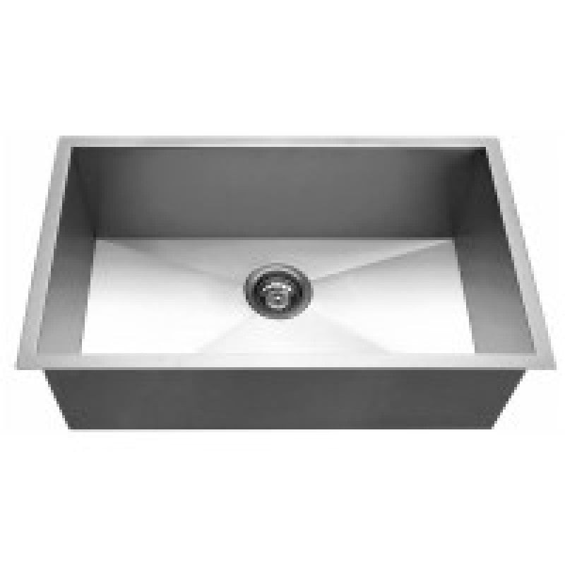 762mm x 457mm x 254mm Handmade Topmount Or Undermount Kitchen Sink Single Bowl