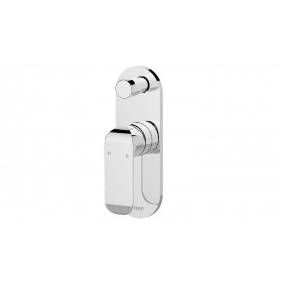 Ikon Kara Diverter Shower/Bath Mixer - Chrome