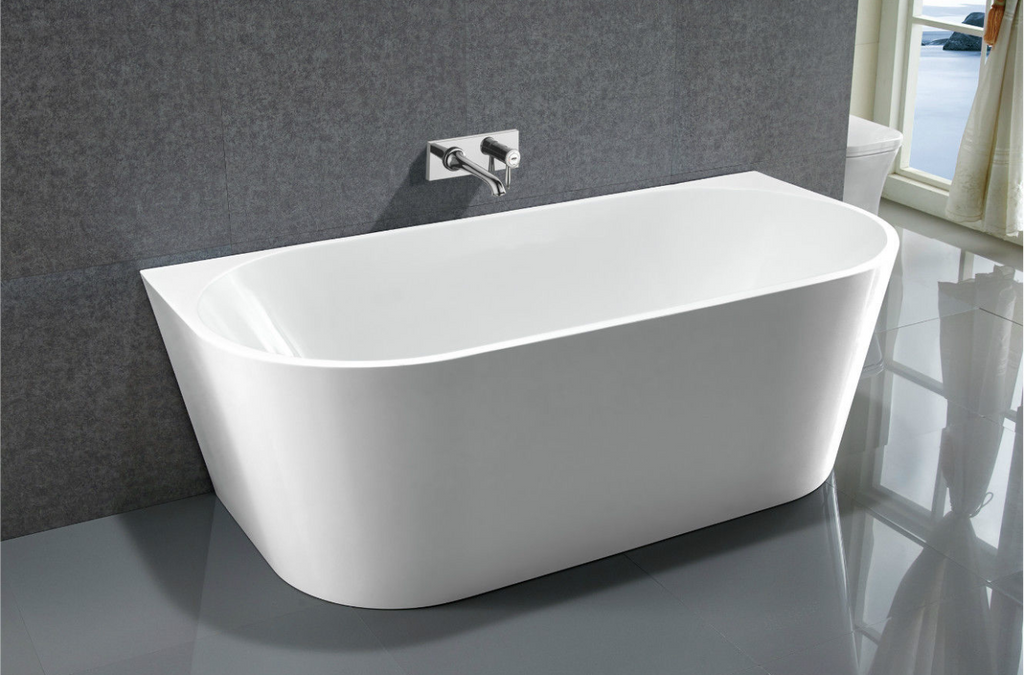 Tiffany Wall Facing Free Standing Bath 1300mm