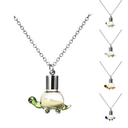 Luminous Glow In the Dark Necklace Turtle Pendant Necklace