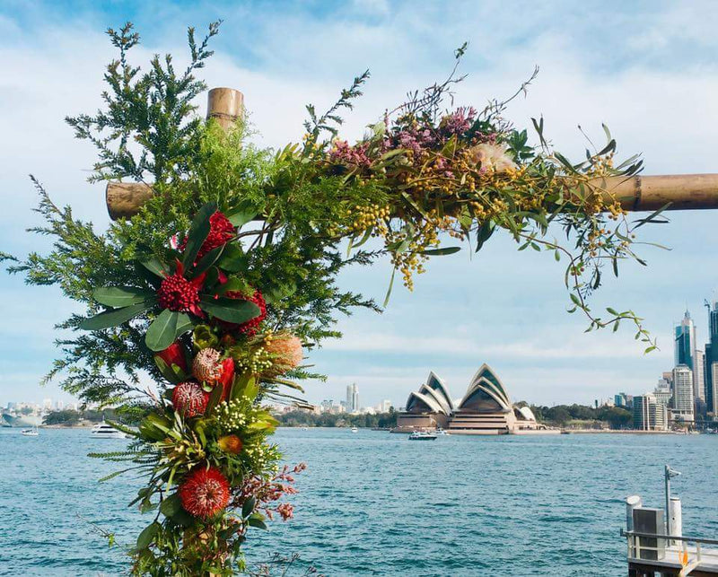 How to style flower Arch sustainable way.