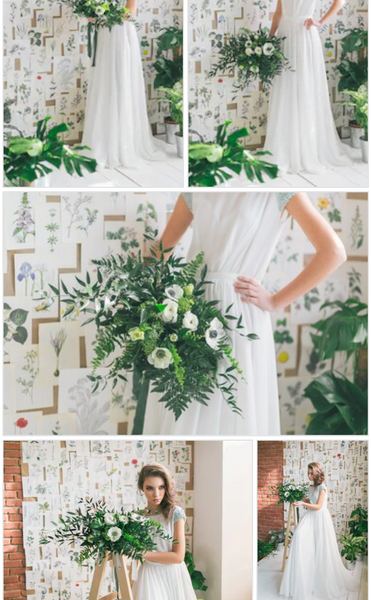Green wedding Sydney wedding florist