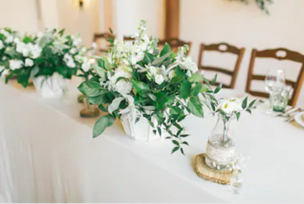 Bridal table Sydney wedding florist