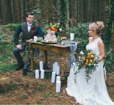 Woodland wedding New South Wales