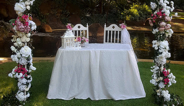 Wedding signing table hire Lugarno Sydney