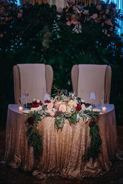 Signing wedding table hire Lugarno Sydney