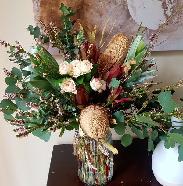 Native banksia Flower Arrangement
