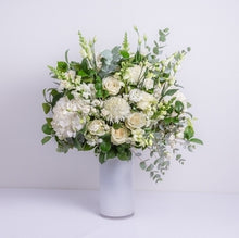 Designer  Choice Vase Woodlands Whites & Greens From