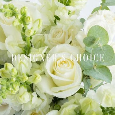 Whites & Greens Florist Choice