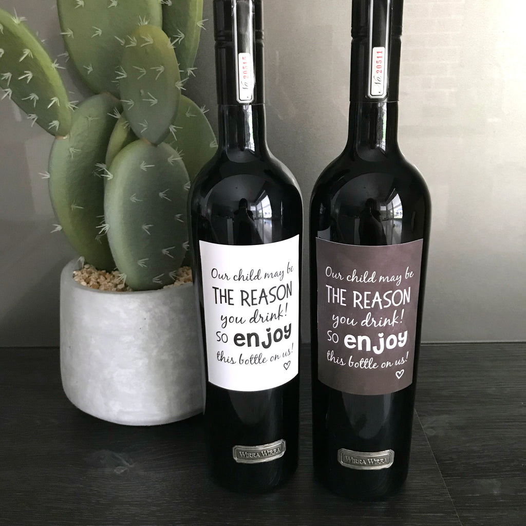 Teacher Gift Wine Labels | Reason You Drink
