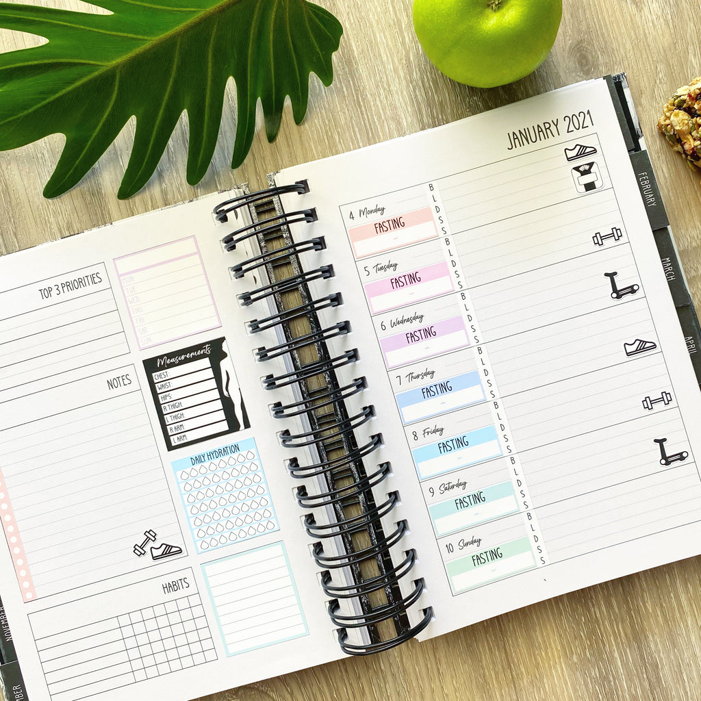 VERY LOW STOCK | Imperfect Lime Weekly Planner | Minor Faults