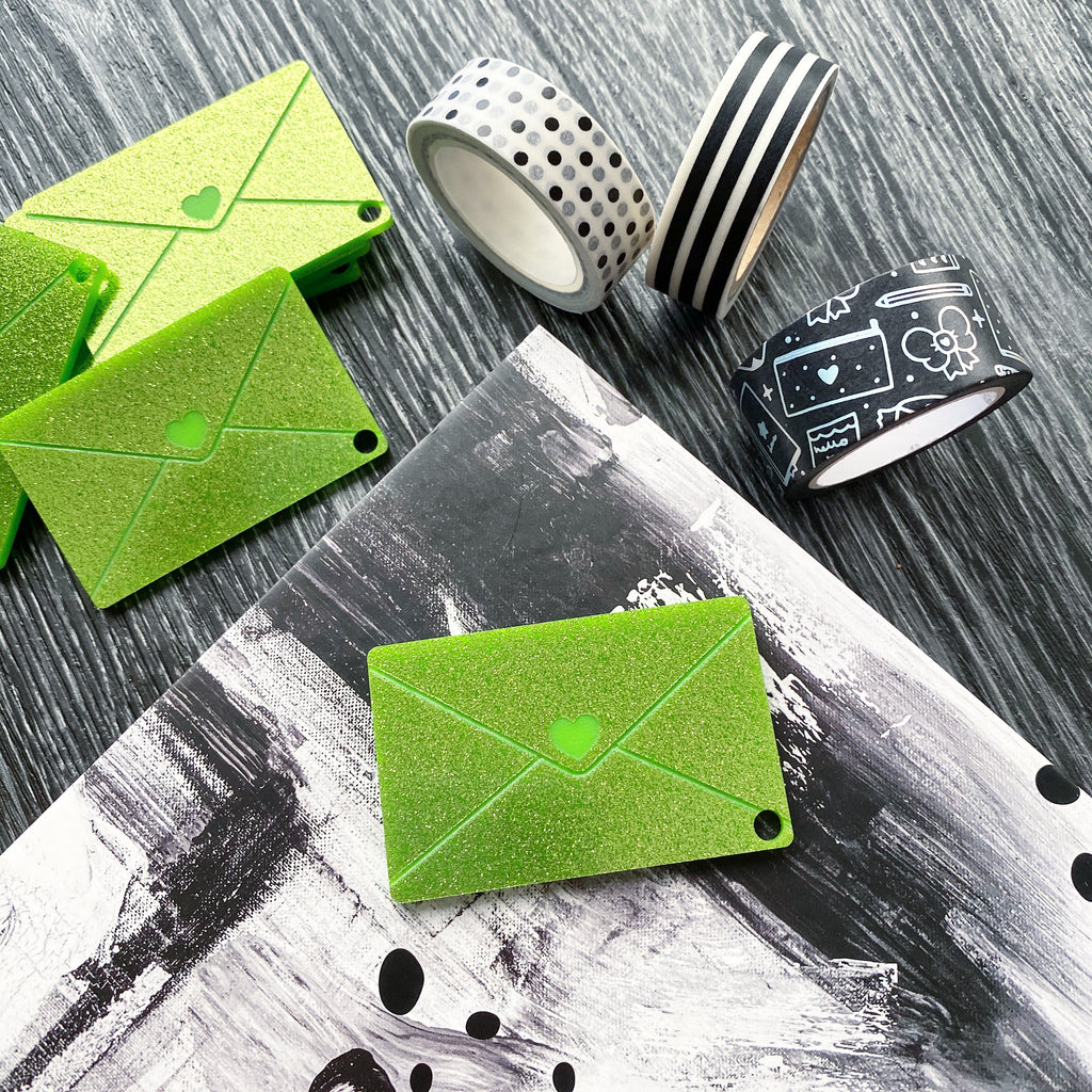 Lime Mail Washi Cutter | Restock Coming