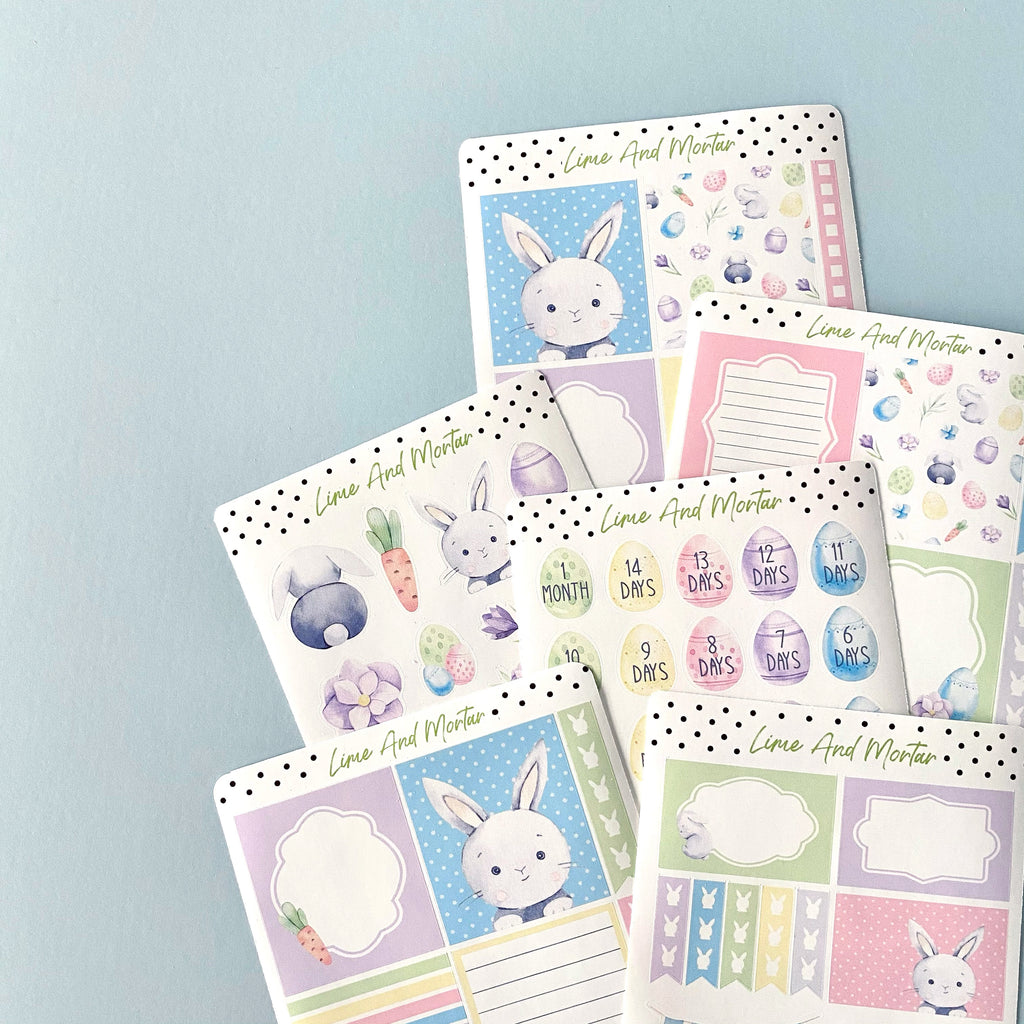 Easter Full Box Stickers