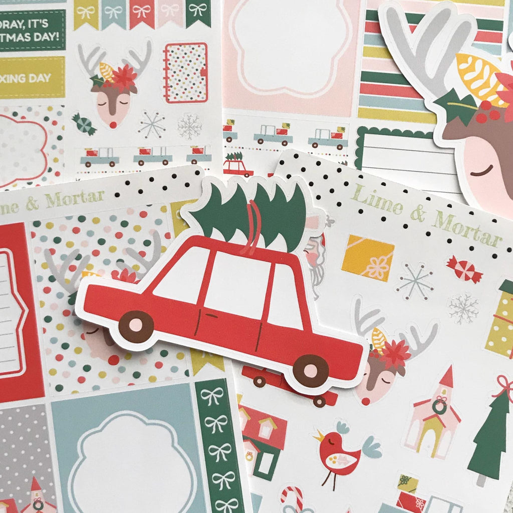 Jingle Bells Decorative Stickers