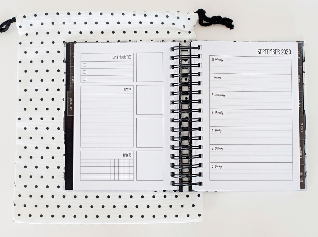 Lime And Mortar Weekly Planner