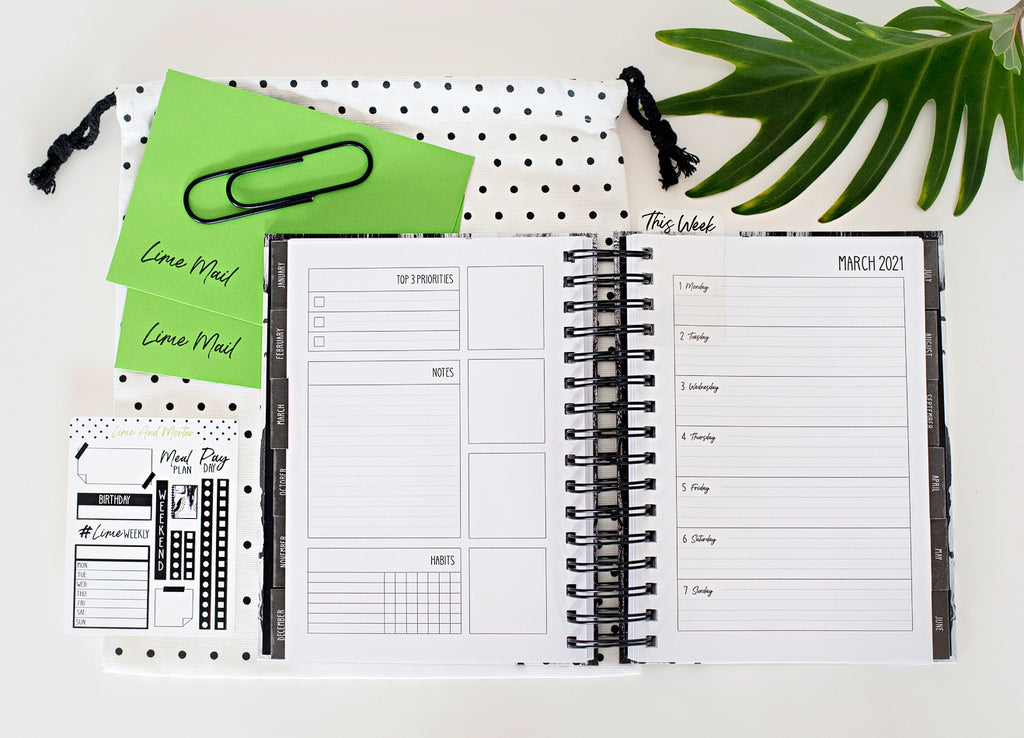 Lime And Mortar 18 Month Weekly Planner