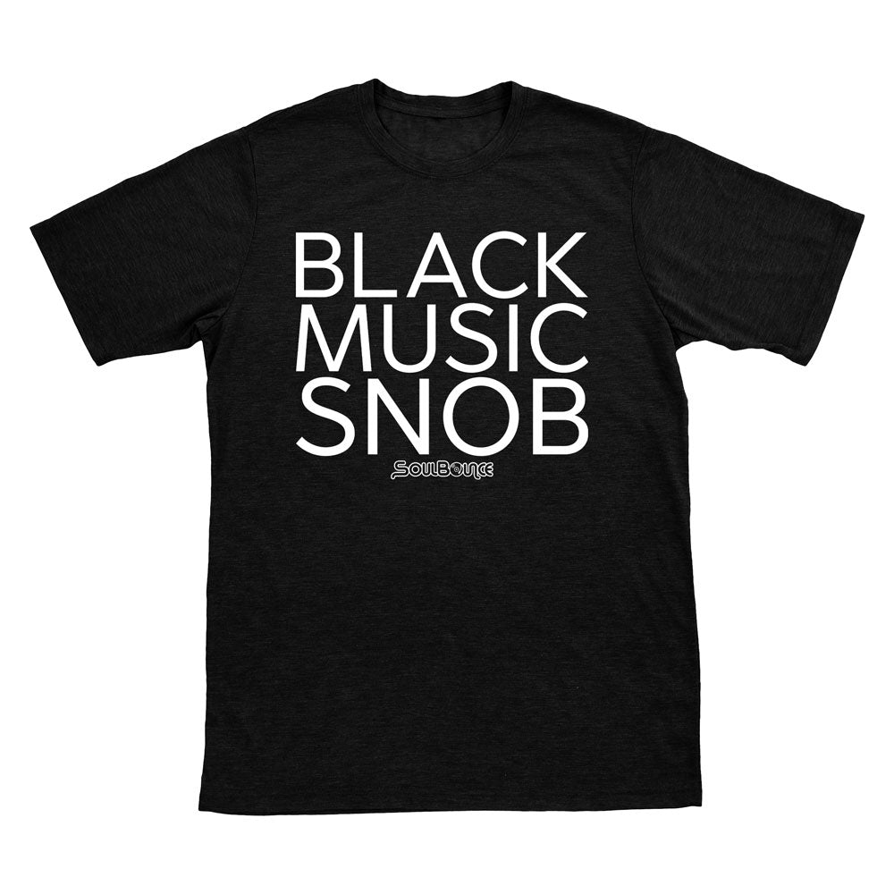 Black Music Snob T-Shirt