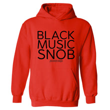 Black Music Snob Hooded Sweatshirt