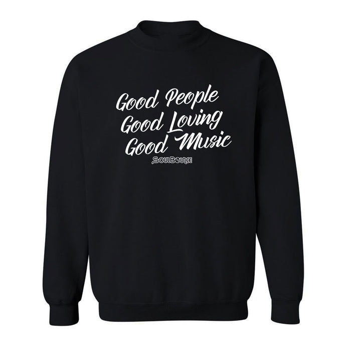 Good Music Crew Neck Sweatshirt