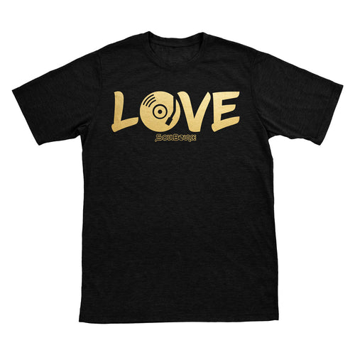 LOVE Music T-shirt in the color Original Black
