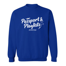 Passport & Playlists Crew Neck Sweatshirt