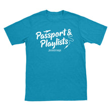 Passport & Playlists T-Shirt