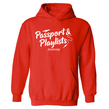 Passport & Playlists Hooded Sweatshirt