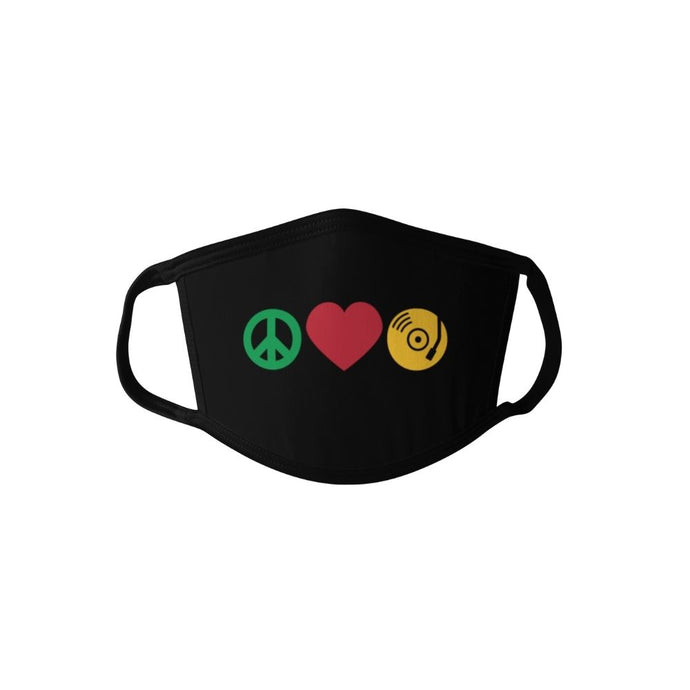 Peace, Love, SoulBounce Face Mask