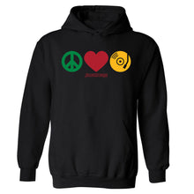 Peace, Love, SoulBounce Hooded Sweatshirt