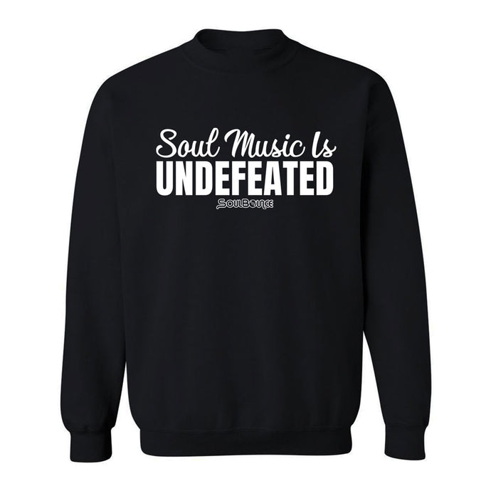 Soul Music Is Undefeated Crew Neck Sweatshirt