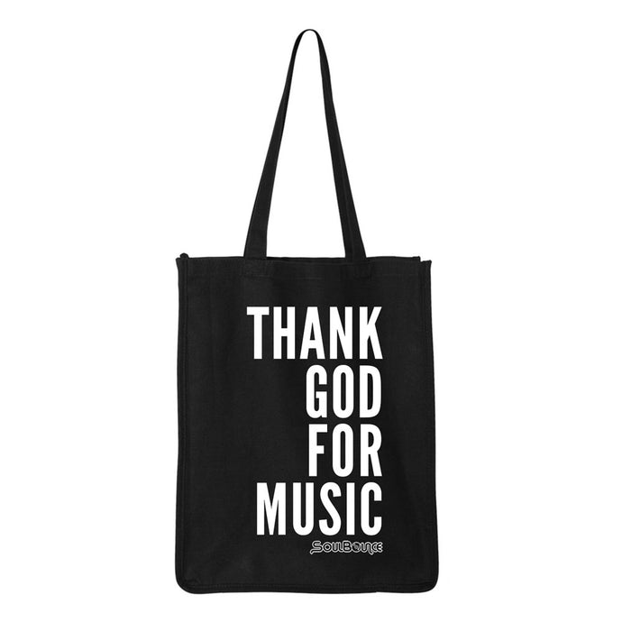 Thank God For Music Shopping Bag